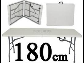 Prekybiniai stalai, sulankstomi lauko baldai