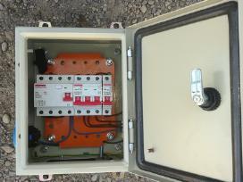 Elektros darbai,apsaugos sistemos,varžų matavimai, - nuotraukos Nr. 17