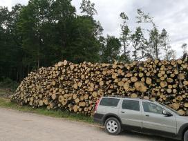 Malkos 3 m rąstais miškovežiu