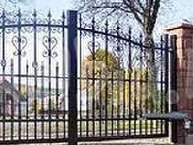 Įvažiavimo vartai su automatika 1500x5180