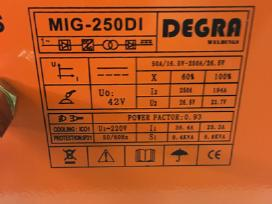 Suvirinimo aparatas Degra Mig-250di - nuotraukos Nr. 5