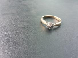 Žiedas su brilijantais