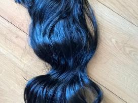 Naujas juodas perukas