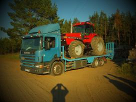 Tralas Platforma, Krovinių - Traktorių vežimas 17t - nuotraukos Nr. 2