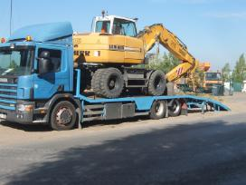 Tralas Platforma, Krovinių - Traktorių vežimas 17t - nuotraukos Nr. 5