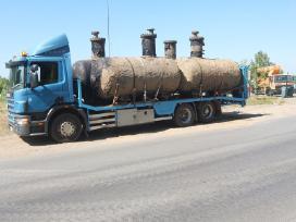 Tralas Platforma, Krovinių - Traktorių vežimas 17t - nuotraukos Nr. 7
