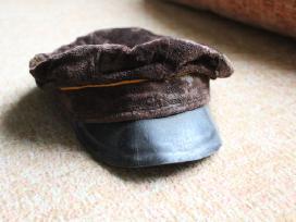 Senos vintage sovietinės kepuraitės furažkės