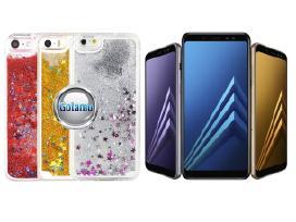 Waterfall dėklai nugarėlės mobiliesiems telefonams