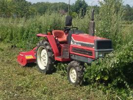 Mini traktoriaus paslaugos