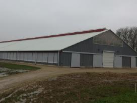 Žemės ūkio pastatų ir statinių statyba ir remontas