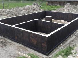 Pamatų įrengimas, sienų, laiptų betonavimas - nuotraukos Nr. 5