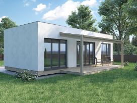 Kokybiškas, ekonomiškas modulinis namas