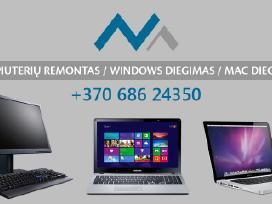 Kompiuterių remontas (Windows ir Mac)