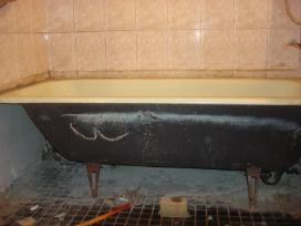 Nemokamai išvežame senas vonias,radiatorius