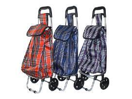 Pirkinių krepšys su ratukais