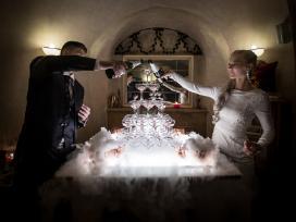 Mobilus baras, Šampano piramidė, Šampano staliukas - nuotraukos Nr. 3