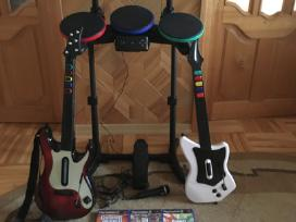 Dj Hero, Guitar Hero, Band Hero Playstation 2,3.