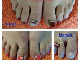 Šarminis pedikiūras, manikiūras. Kojų nagų priaugi - nuotraukos Nr. 2