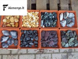 Dekoratyviniai akmenys ir skalda Vilniuje pigiau!