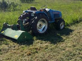 Žolės Pjovimas, Žemės Frezavimas