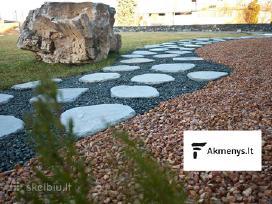 Skaldyti dekoratyvūs akmenys alpinariumams, skalda