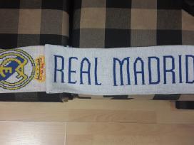 Sirgalių šalikai Real Madrid ir Lietuvos rytas