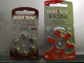Rayovac ir Duracell nr.13,312 klausos apr. bateri - nuotraukos Nr. 3