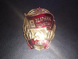 Ženkliukas, medalis iš Tarybinių laikų