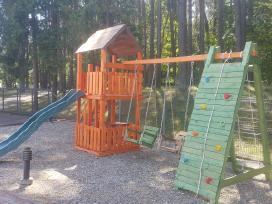 Vaikų žaidimo aikštelių gamyba. Turime sandėlyje!