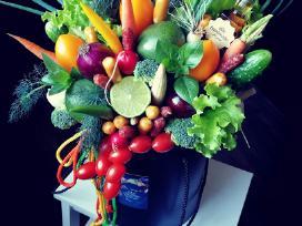 Valgoma daržovių puokštė