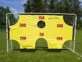 Football gates with markings 290x165x90 cm