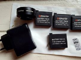 Parduodu Gopro 4 baterijas, Uv filtra, pakroveja