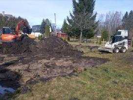 Aplinkos tvarkymas.aikštelių, kelių įrengimas - nuotraukos Nr. 9