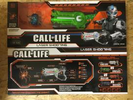 Lazeriniai šautuvai - smagu ir saugu!