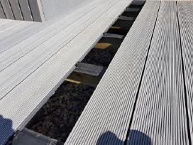 Wpc terasinės lentos iki 12 metrų ilgio, 5 Eur/m !
