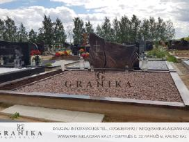 Paminklai/granito plokštės/tvorelės/kapų tvarkymas