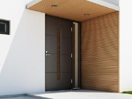 Šiltos lauko dazytos durys vilniuje - nuotraukos Nr. 12