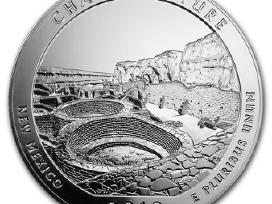 2012 5 oz Silver Atb Chaco Culture National Park
