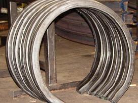 Metalų vamzdžių lenkimas, lankstymas, valcavimas