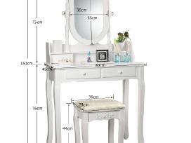 Kosmetinis tualetinis staliukas Akcija! - nuotraukos Nr. 6