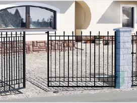 Metalinės tvoros vartai, varteliai, automatika - nuotraukos Nr. 5