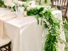 Ilgos prabangios staltiesės kalėdoms/ vestuvėms