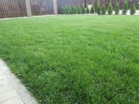 Vejos,aukstos žolės pjovimas, aeravimas.vilnius