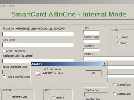 X1 Smart Card All In One Software to Read Write