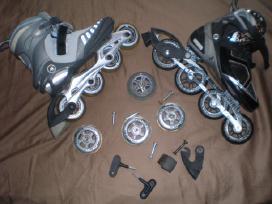 Parduodu K2,solomon,rollerblade firmu rieducius