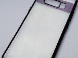 Samsung Note 8 skaidrus silikoninis dėklas