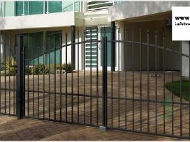 Metalinės tvoros vartai, varteliai, automatika - nuotraukos Nr. 4