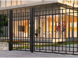 Metalinės tvoros vartai, varteliai, automatika - nuotraukos Nr. 19