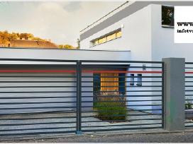 Metalinės tvoros vartai, varteliai, automatika - nuotraukos Nr. 20