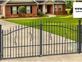 Metalinės tvoros vartai, varteliai, automatika - nuotraukos Nr. 22